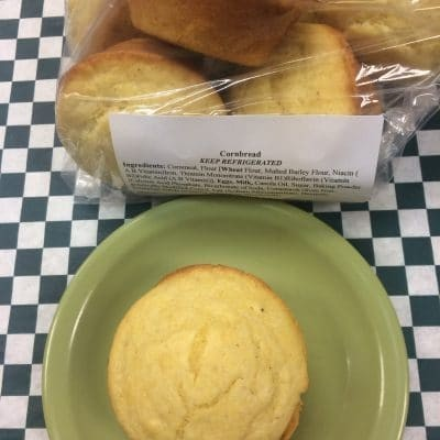 Corn Muffins Full bag of 6