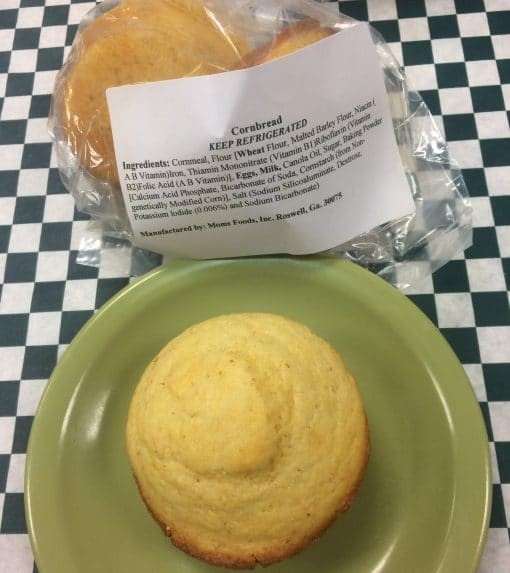 Corn Muffins Small Bag of 2