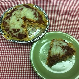 Spaghetti Pie Small
