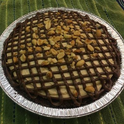 peanut butter pie full