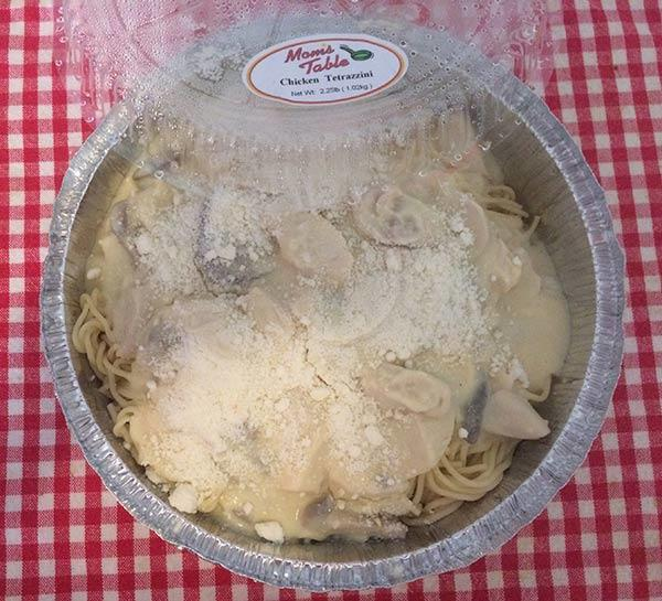 chicken tetrazzini full